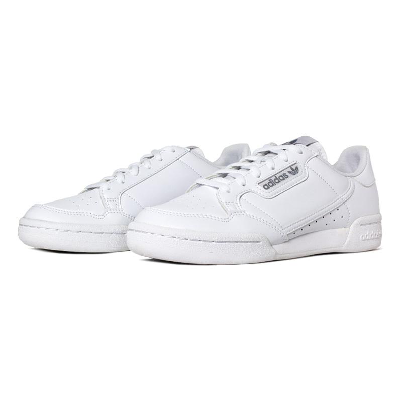 Tenis adidas continental 80 j branco cinza 1
