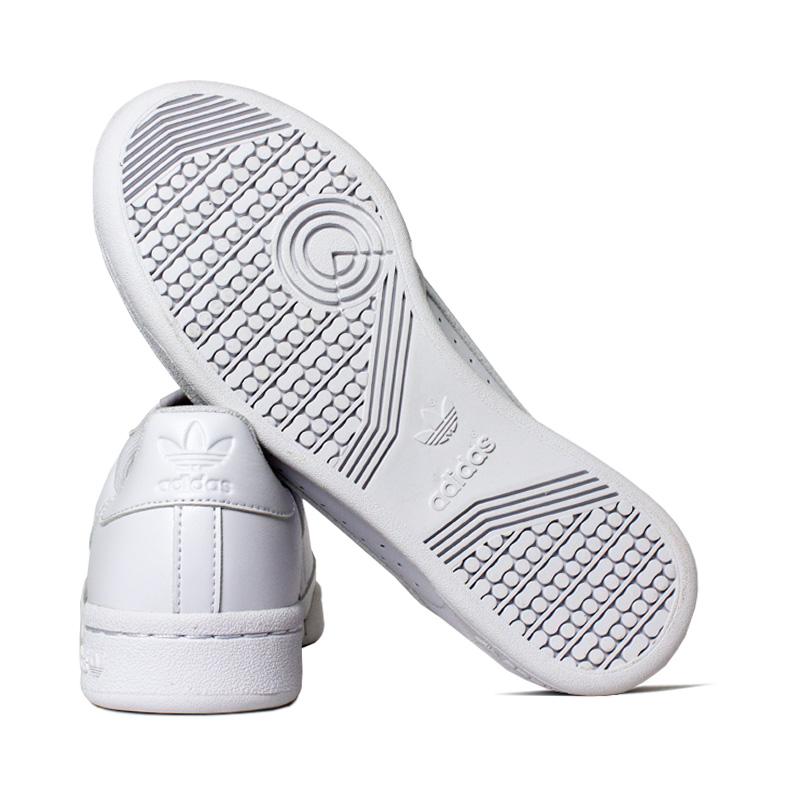 Tenis adidas continental 80 j branco cinza 3
