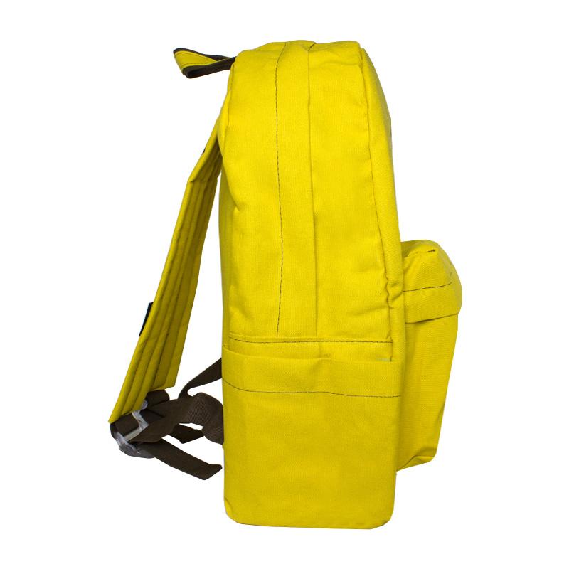 Mochila convexo basica amarelo 1