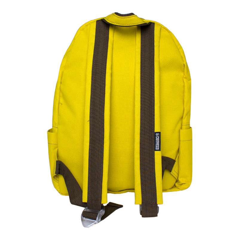 Mochila convexo basica amarelo 2