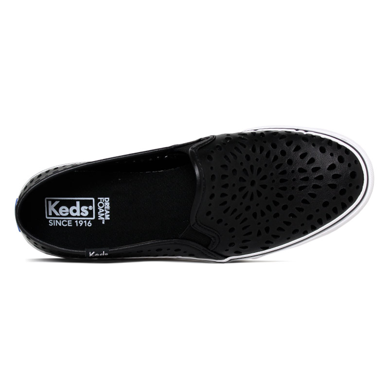 Keds double decker fresh preto 1