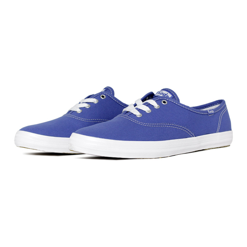 Keds champion woman canvas azul 1