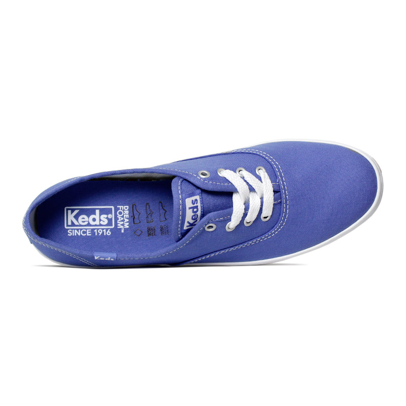 Keds champion woman canvas azul 2