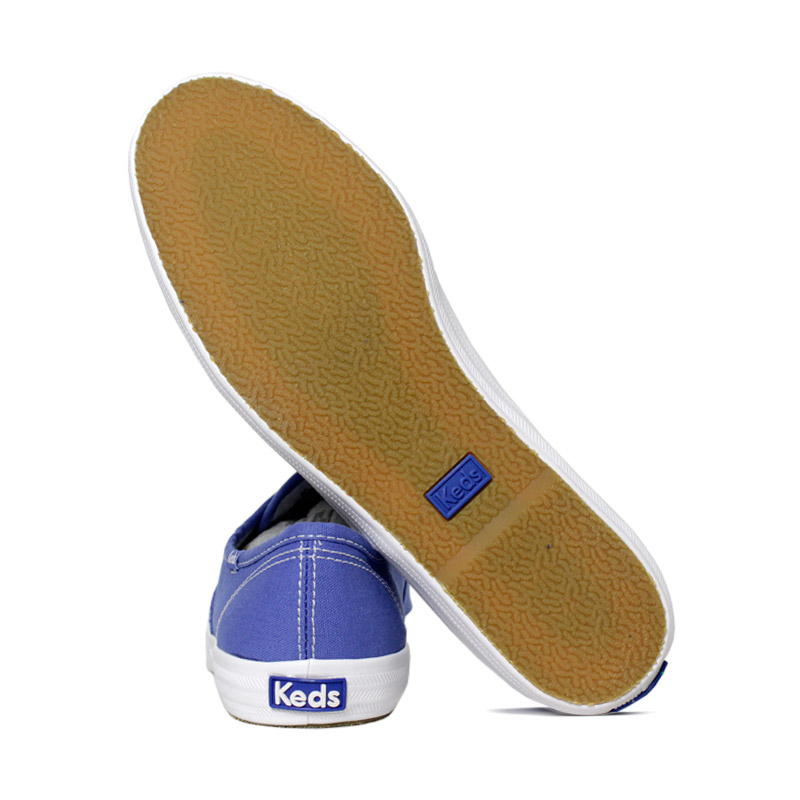 Keds champion woman canvas azul 3
