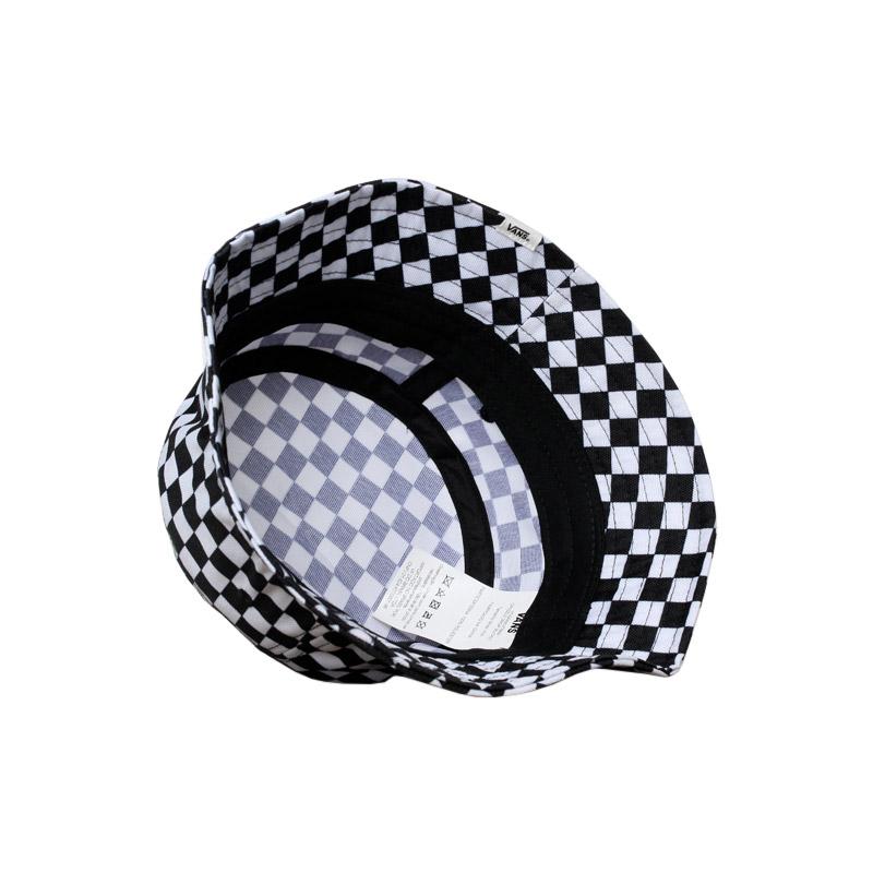 Drizzle drop bucket black white checkerboard 1