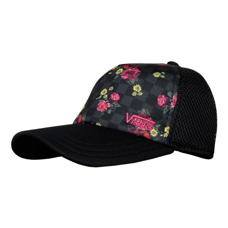 Bone sporty spunk hat botanical check 1