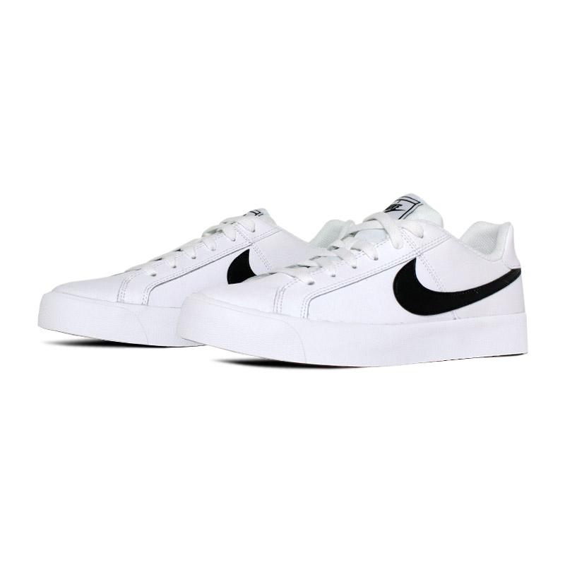 Nike court royale ac branco preto 1