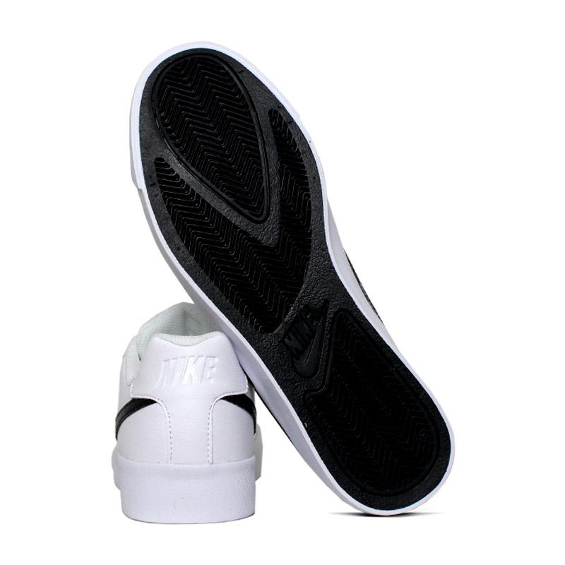 Nike court royale ac branco preto 3