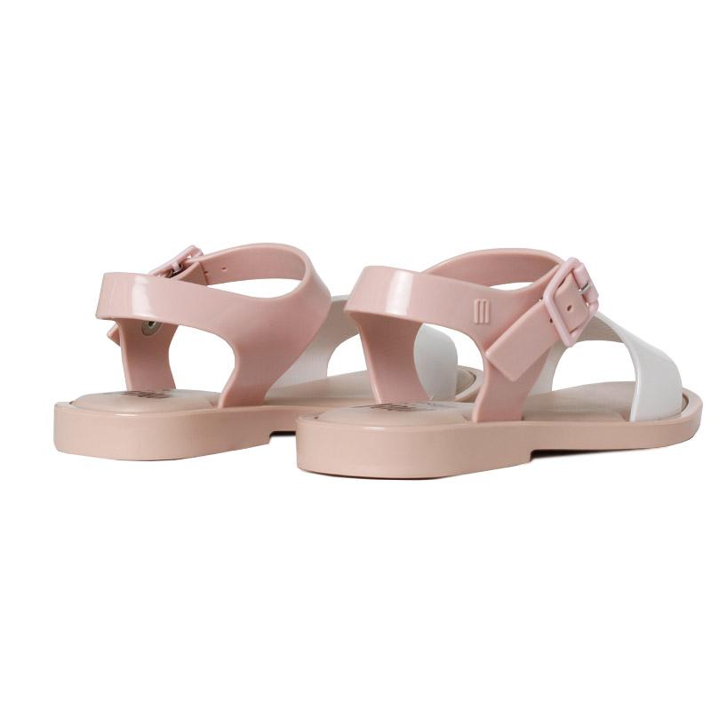 Melissa mel mar sandal branco rose 1