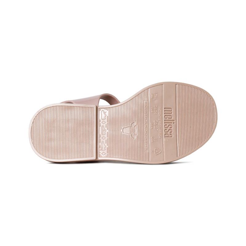 Melissa mel mar sandal branco rose 2