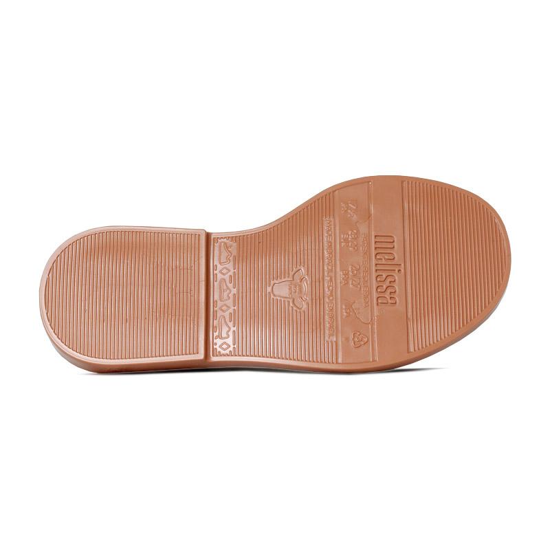 Melissa mel mar sandal preto branco 3