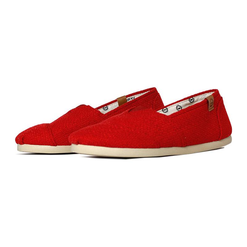 Alpargata perky vermelho rustic 2