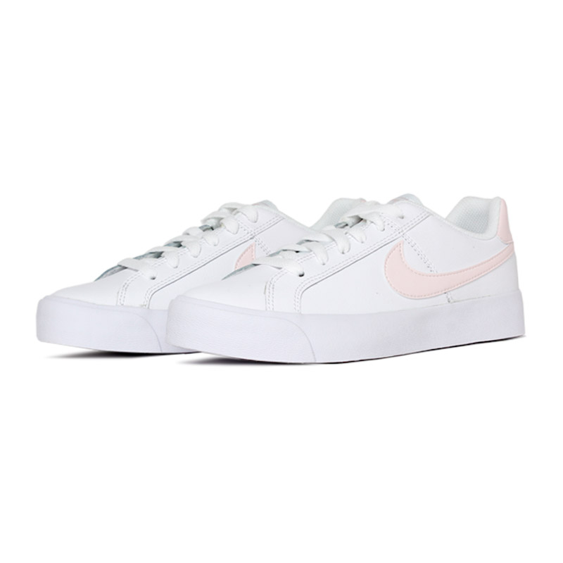 Nike court royale white lightsoft pink rose 1