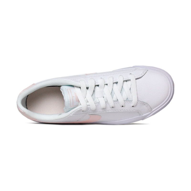 Nike court royale white lightsoft pink rose 3
