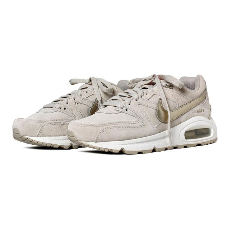 Nike air max comand premium bege ouro 1
