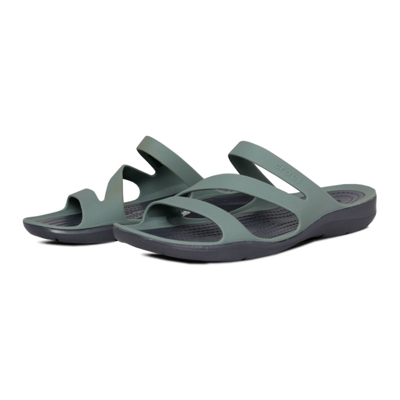 Crocs swiftwater sandal dustyn charcoal 1
