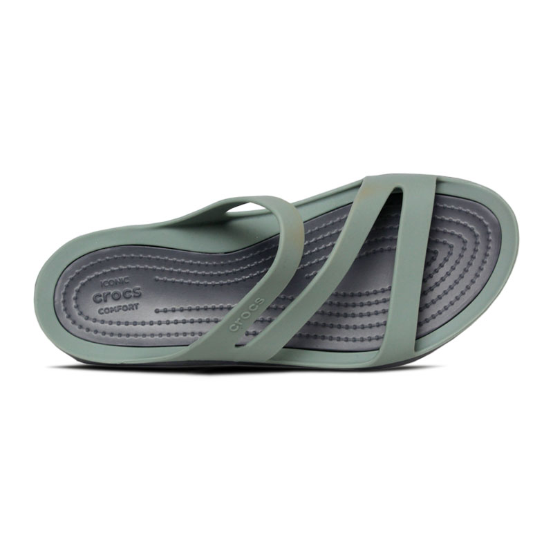 Crocs swiftwater sandal dustyn charcoal 2
