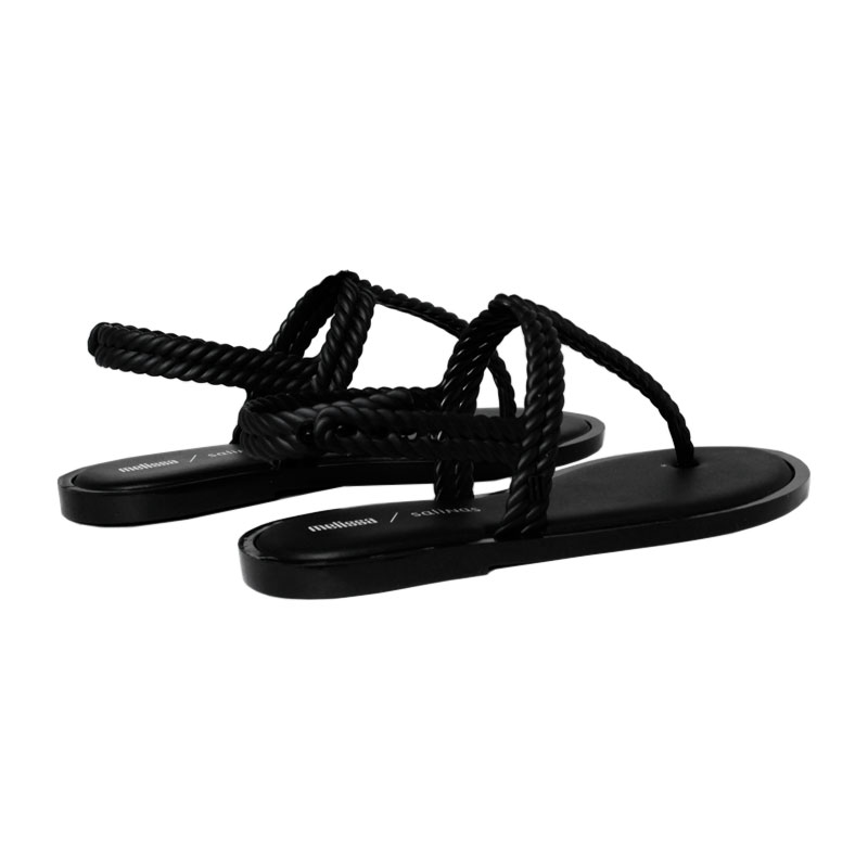 Melissa flash sandal salinas preto 2