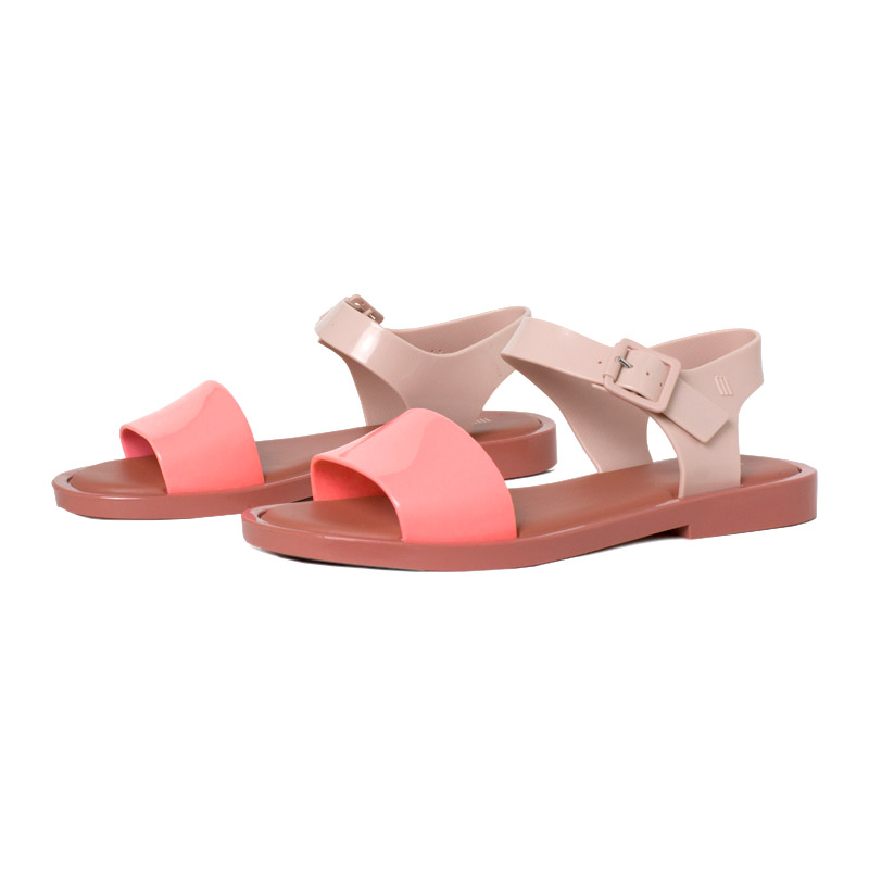 Melissa mar sandal rosa rosa 1