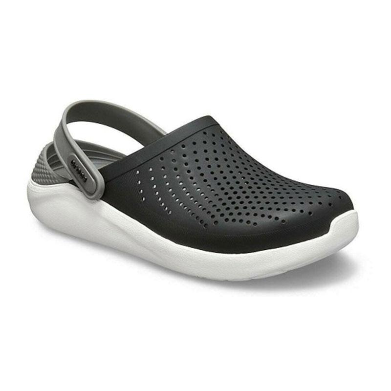 Crocs literide clog smoke black 1