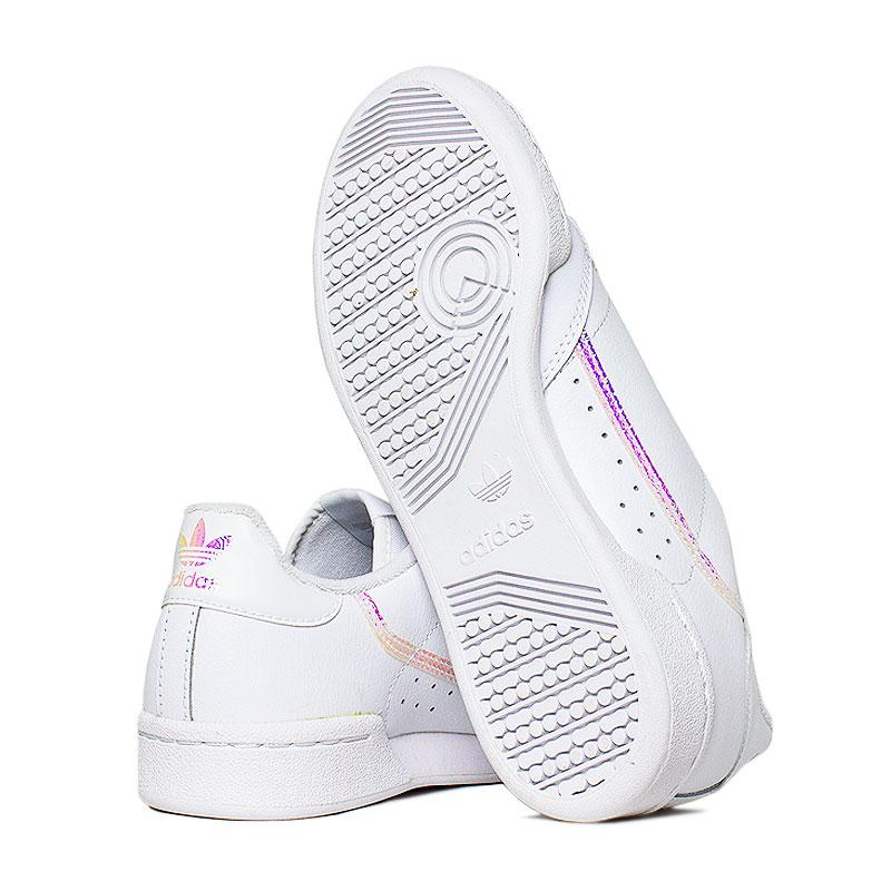 Tenis adidas continental j white 1