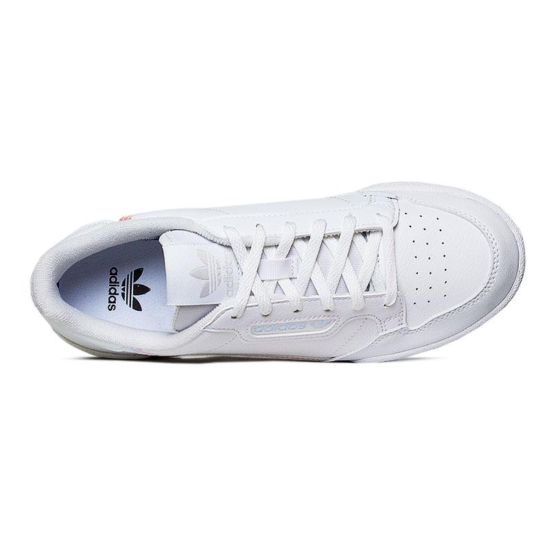 Tenis adidas continental j white 2