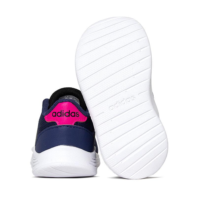 Tenis lite racer baby tech indigo pink 1