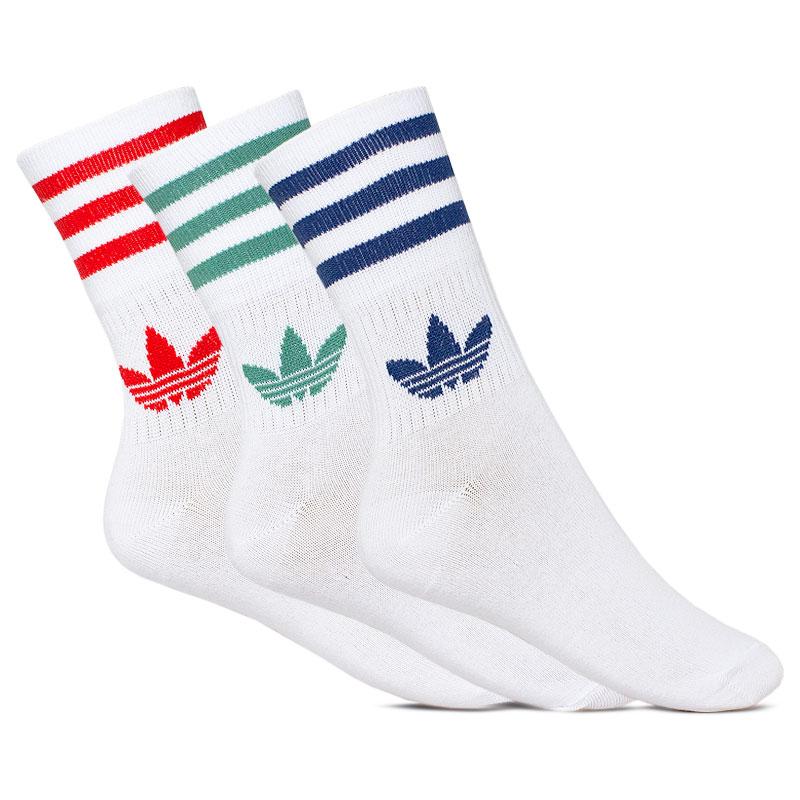 Meia adidas midcut crew sock 39 a 42 red hidro mar 1