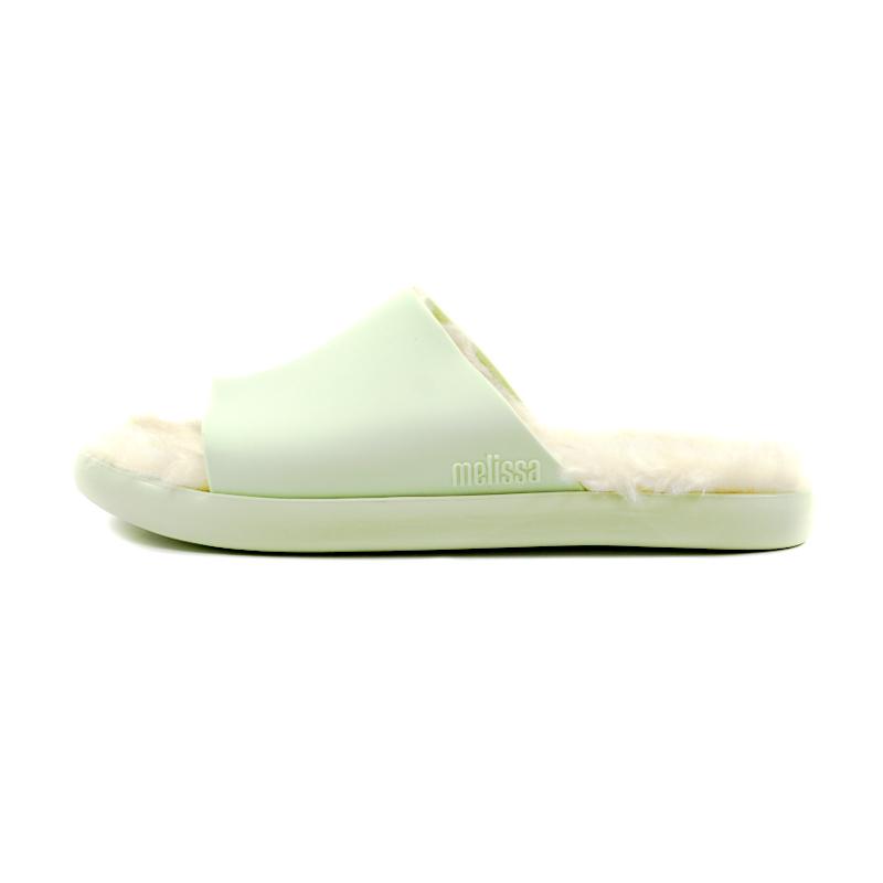 Melissa fluffy slide verde 2