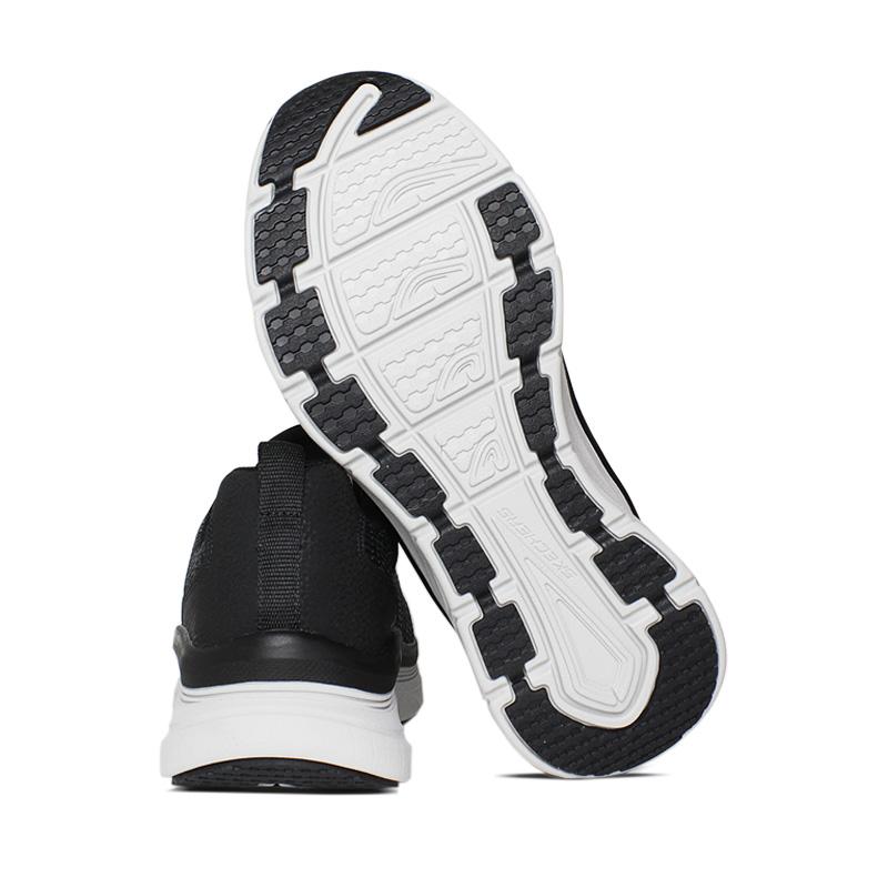 Skechers d luxe walk pensive preto cinza 2