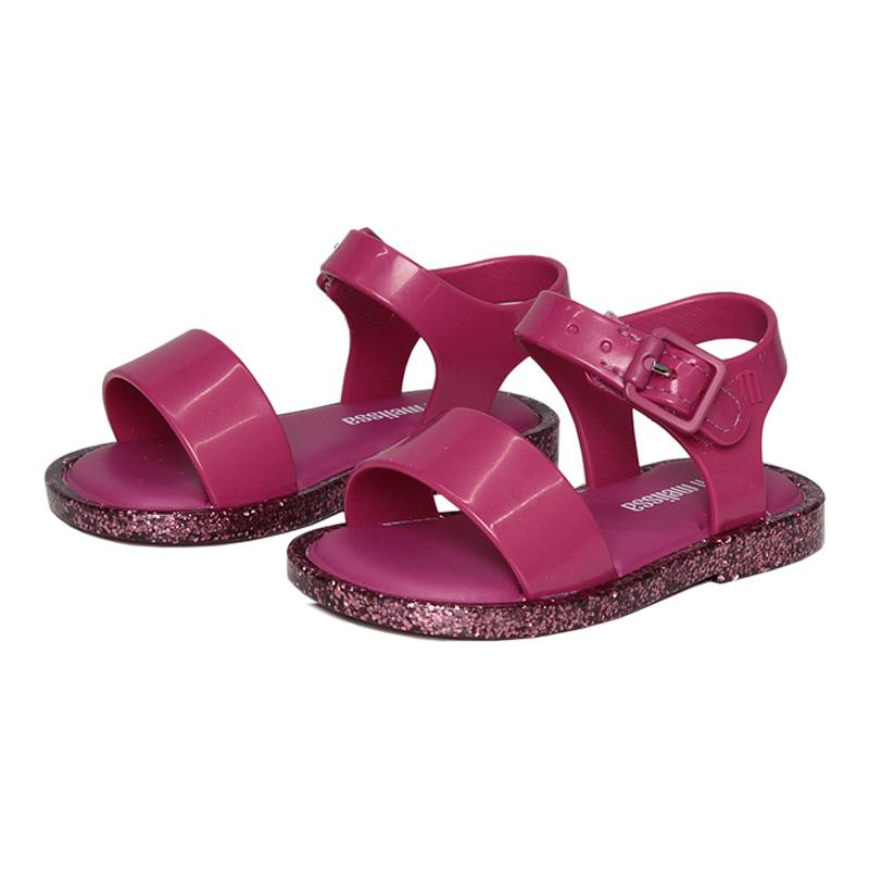 Mini mel mar sandal iv rosa barbie glitter 1