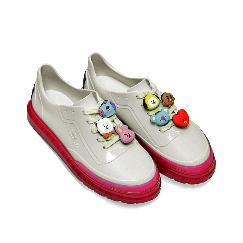 Melissa classic sneaker bt21 branco rosa 2