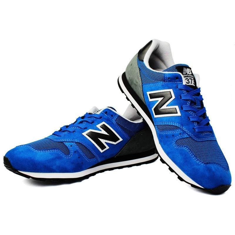 New balance 373 masculino azul cinza 1