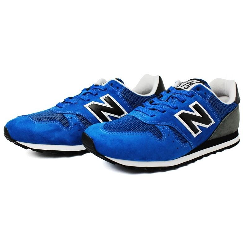 New balance 373 masculino azul cinza 3
