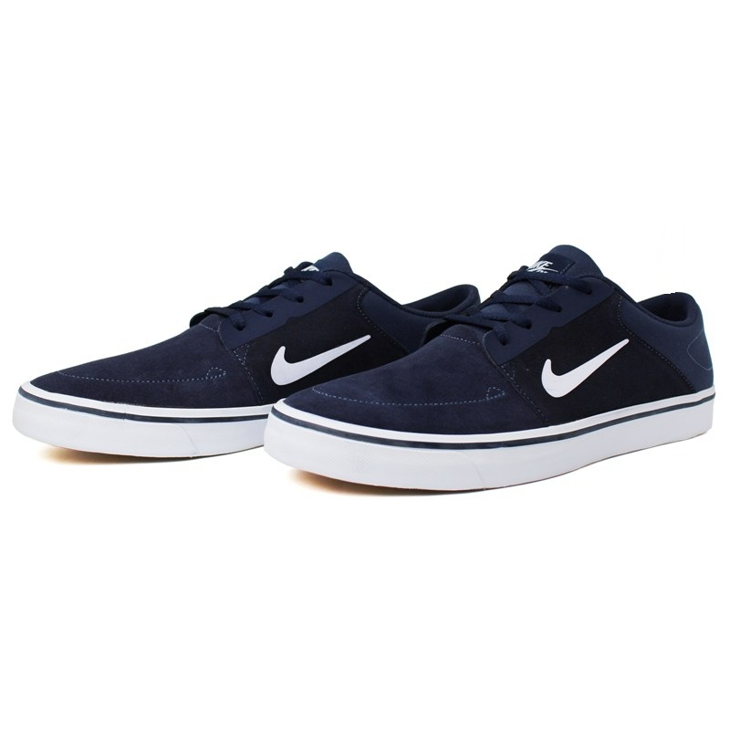 Tenis nike sb portmore navy white light brown 3