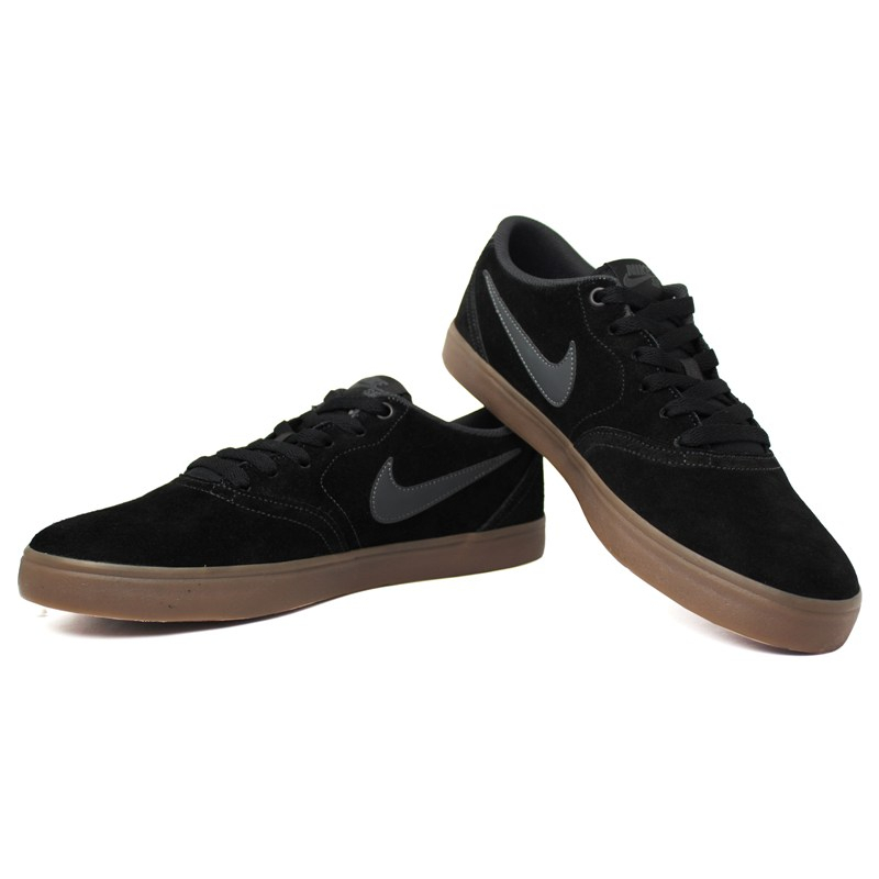 Nike sb check solar black anthracite dark brown 1