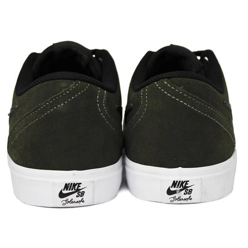 Nike sb check solar cargo khaki black 4