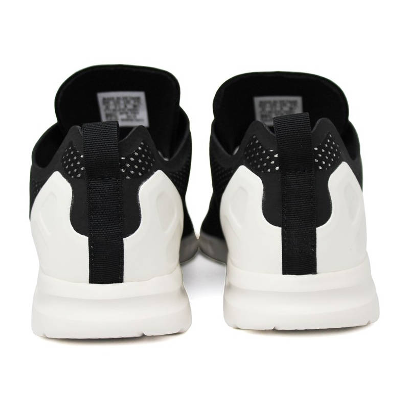 Tenis adidas zx flux preto prata branco 3