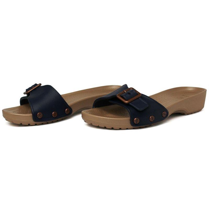 Crocs sarah sandal navy gold 2