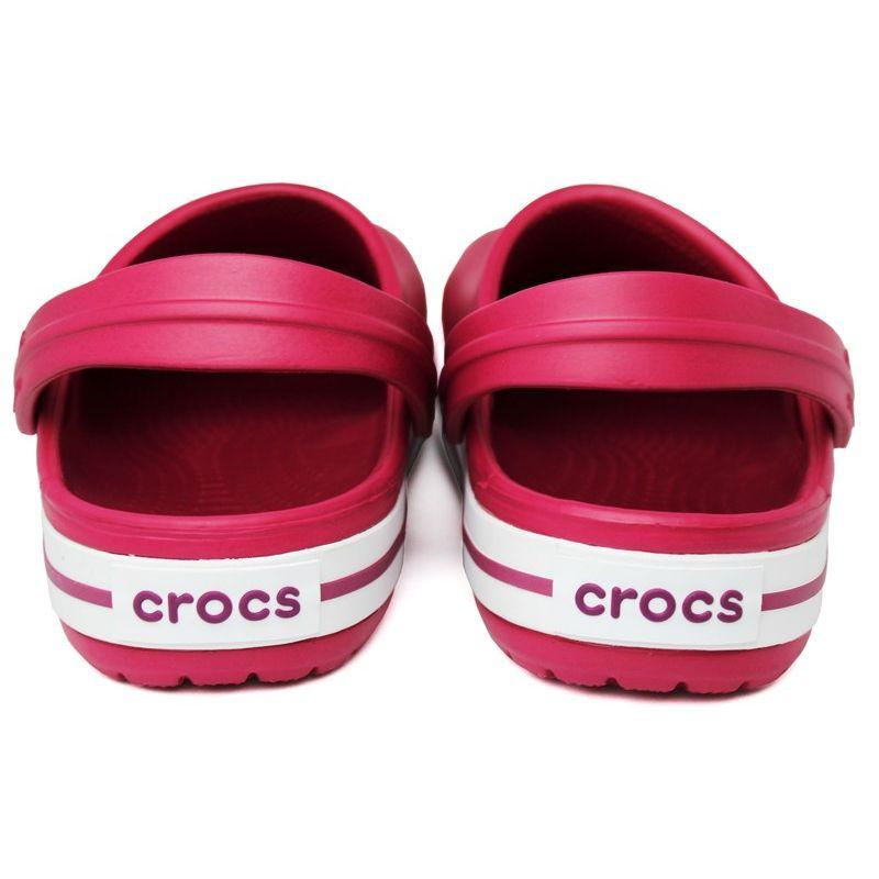 Crocs crocband ii pomegranate white 3