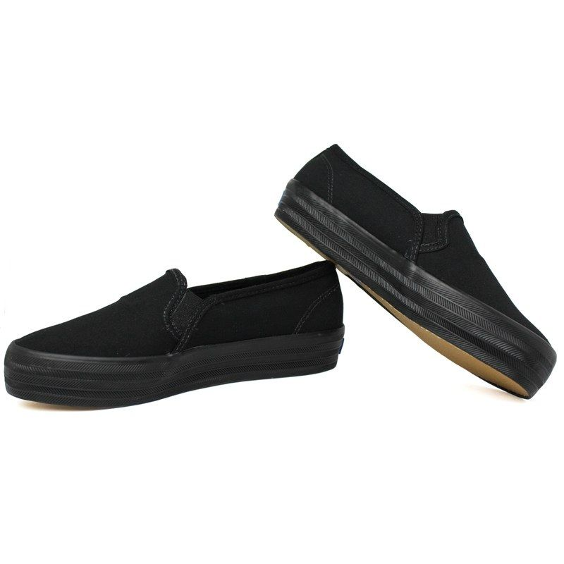 Keds triple decker canvas preto preto 1