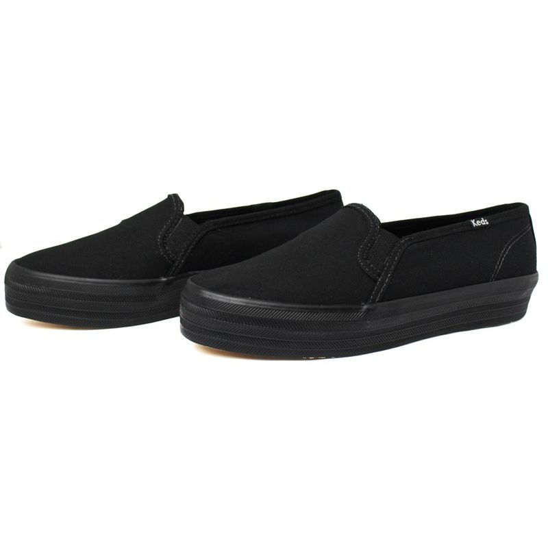 Keds triple decker canvas preto preto 2