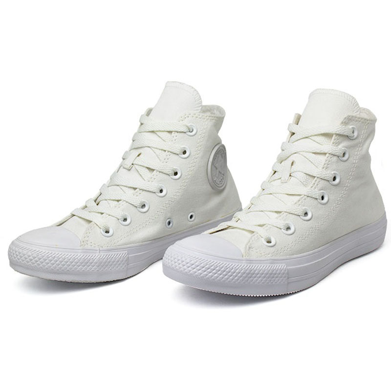 All star monochrome hi branco 1