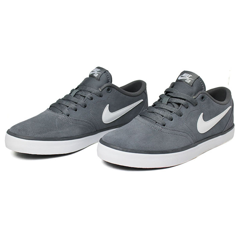 Nike sb check solar cool grey white 1