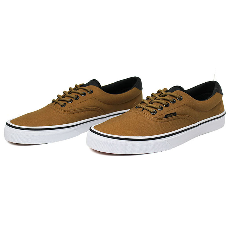 Tenis vans era 59 canvas military bristre white 1