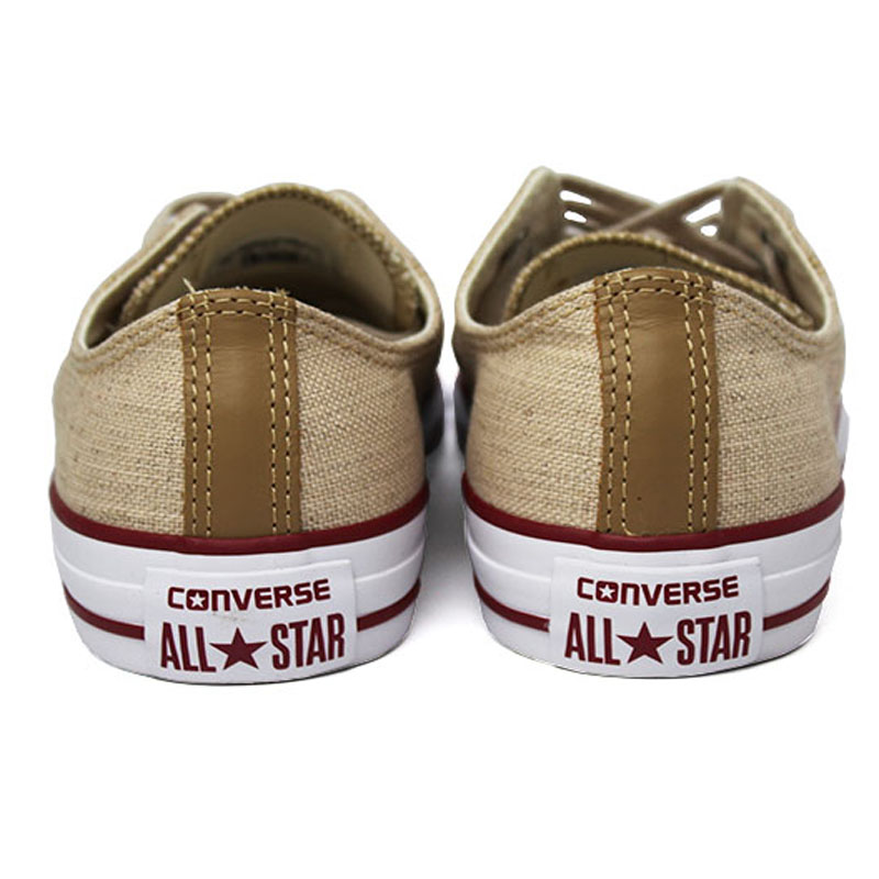 All star chuck taylor ox natural linho 2