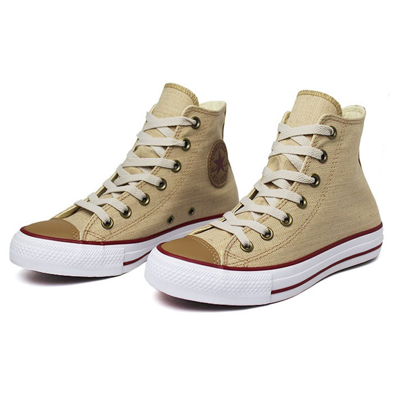 All star chuck taylor hi natural linho 1