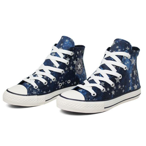 All star infantil chuck taylor hi stars azul 1
