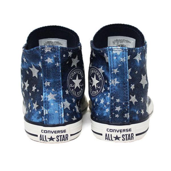 All star infantil chuck taylor hi stars azul 2