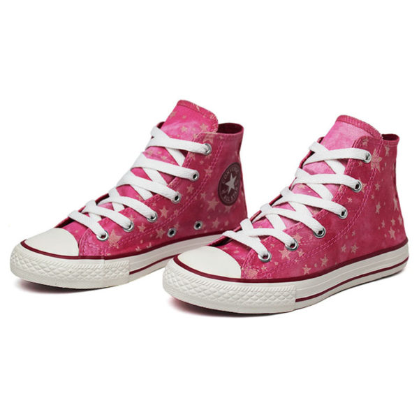 All star infantil chuck taylor hi stars rosa 1